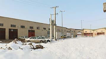عکس از محیط کارخانه گروه صنعتی اسکندری