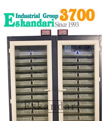 عکس دستگاه جوجه کشی ۳۷۰۰ تایی