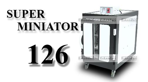 دستگاه جوجه کشی سوپر مینیاتور 126 عددی