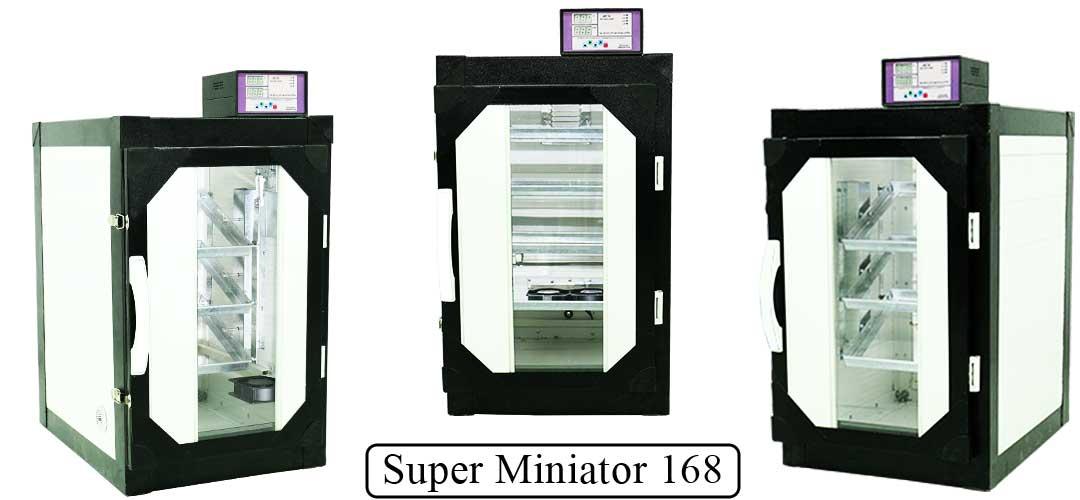 دستگاه جوجه کشی سوپر مینیاتور 168 عددی