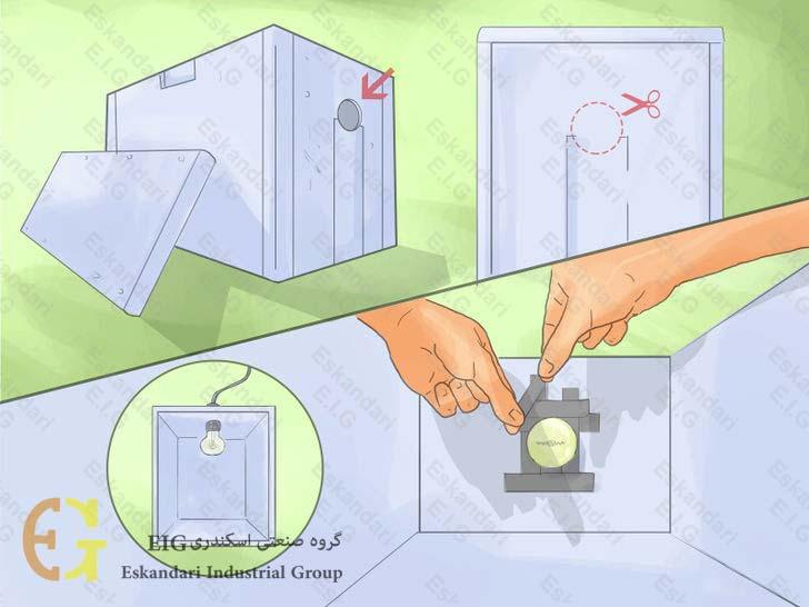 ساخت دستگاه جوجه کشی ساده ی خانگی - مرحله اول