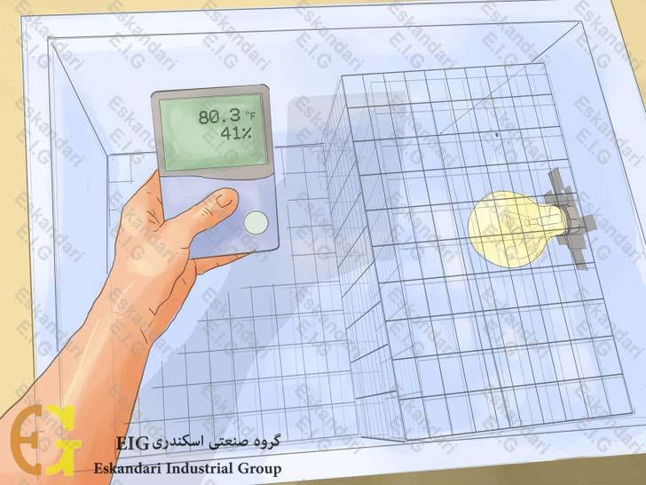ساخت دستگاه جوجه کشی ساده ی خانگی - مرحله سوم