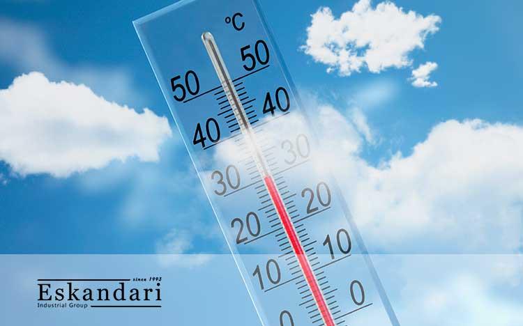حرارت در دستگاه جوجه کشی